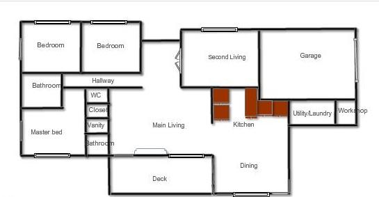 House floor plan 2
