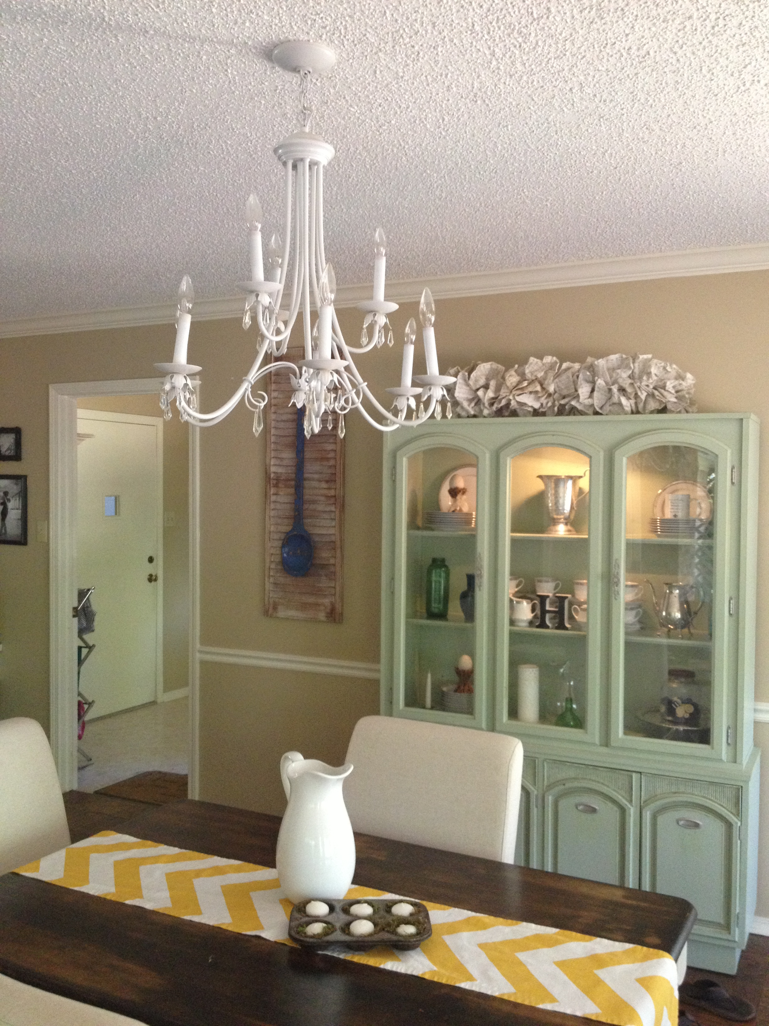 Vintage chandelier makeover all things new interiors photo 2 40 aloadofball Images