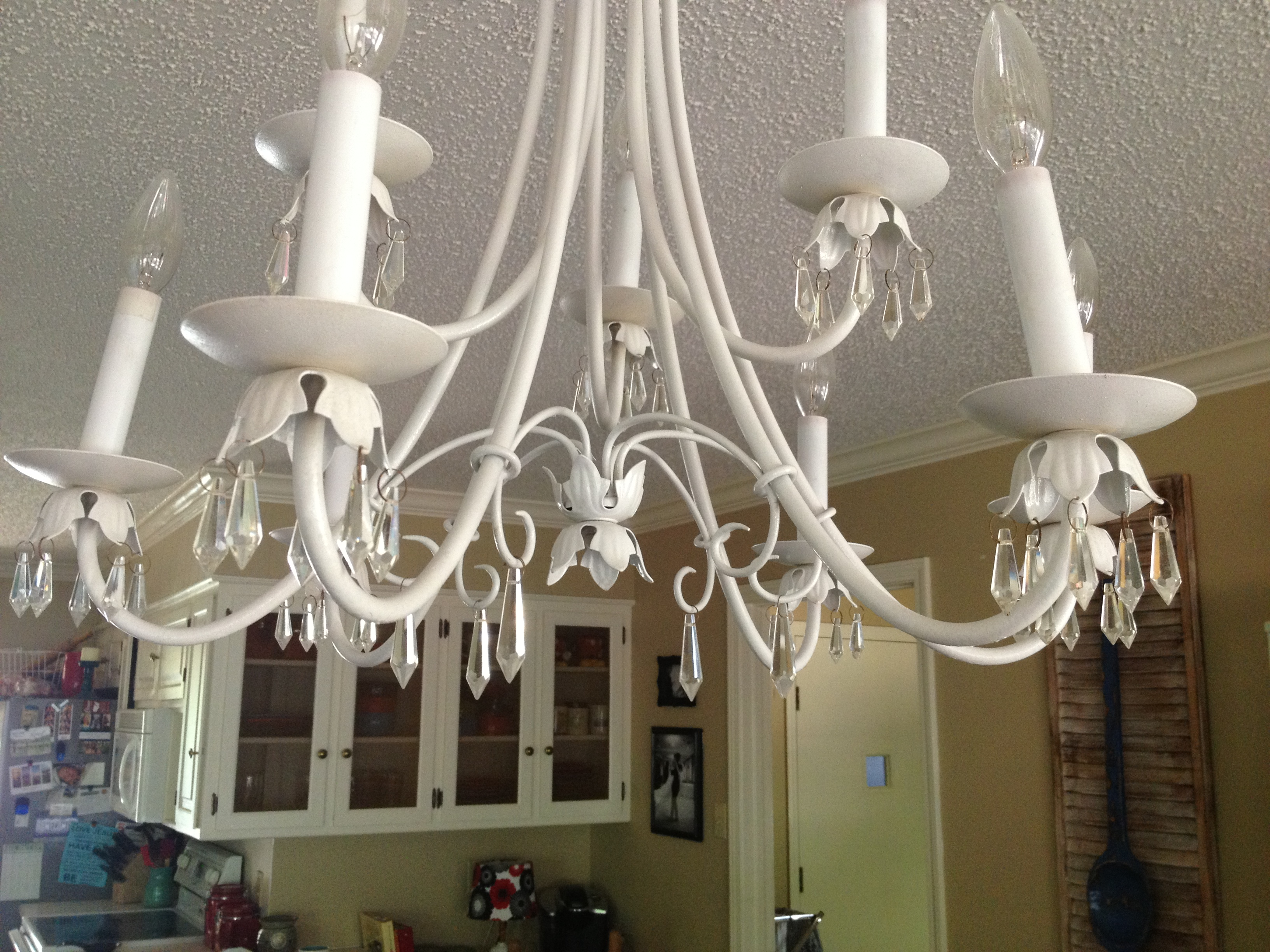 Vintage chandelier makeover all things new interiors photo 2 40 photo 4 33 aloadofball Images