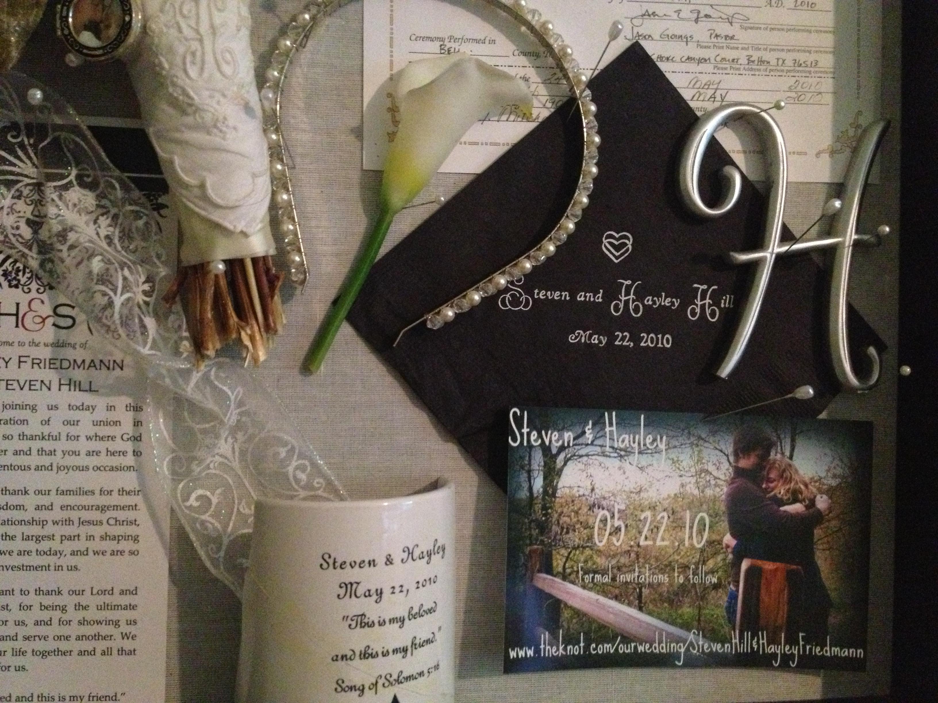 Wedding bouquet shadow box   Wedding Ideas- our SPECIAL ...