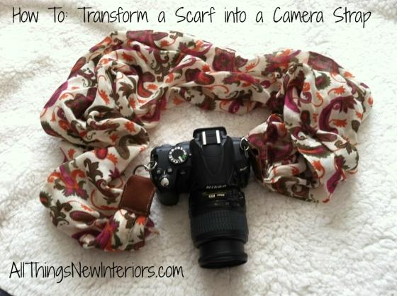 camera strap tutorial