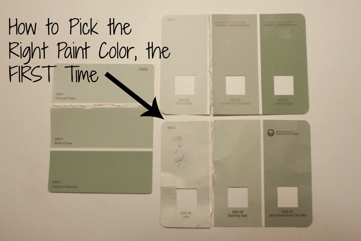 How To Choose A Paint Color how to pick the perfect paint color, the first time | all things