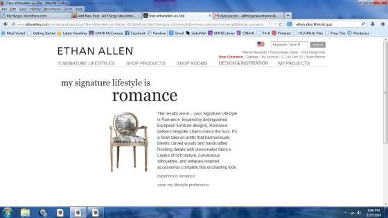 ethan allen romance