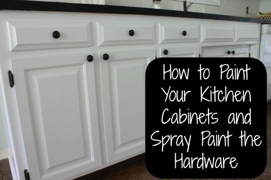 Painting our kitchen cabinets all things new interiors for Best brush for painting cabinets