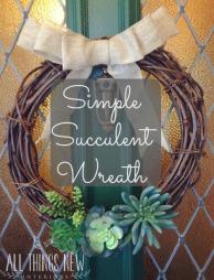 succulent wreath pm