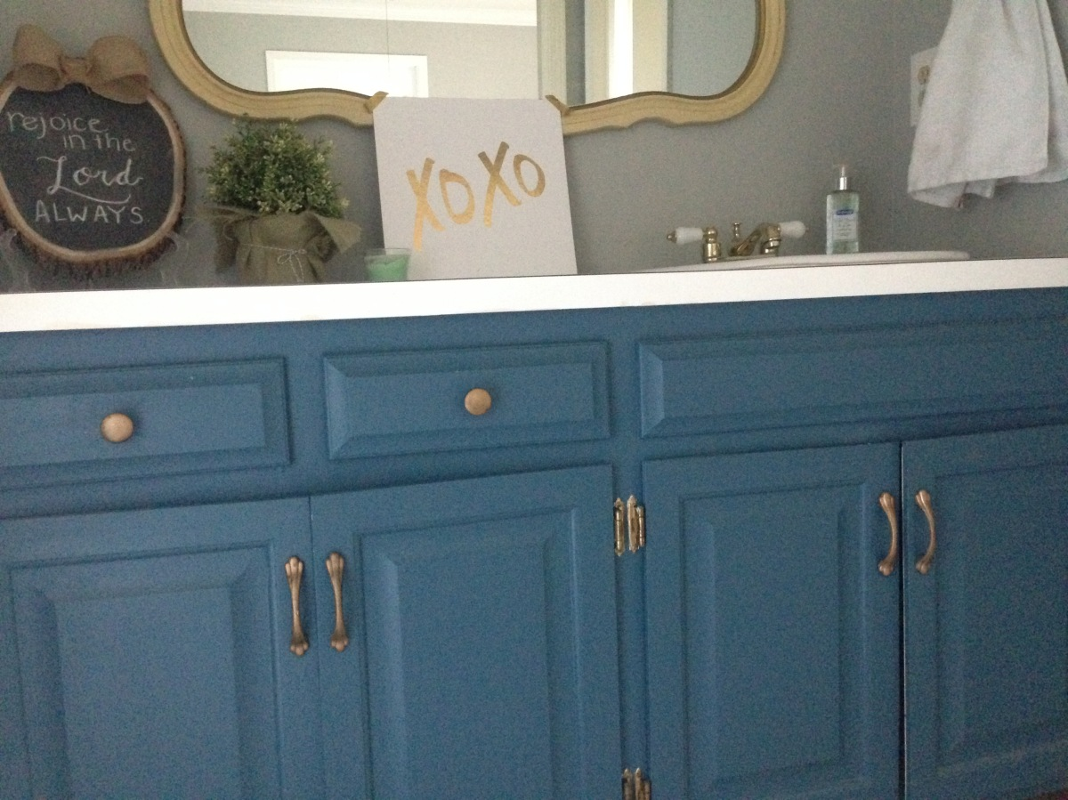 Excellent Bathroom Vanity Makeover With Chalk Paint  Decor Adventures