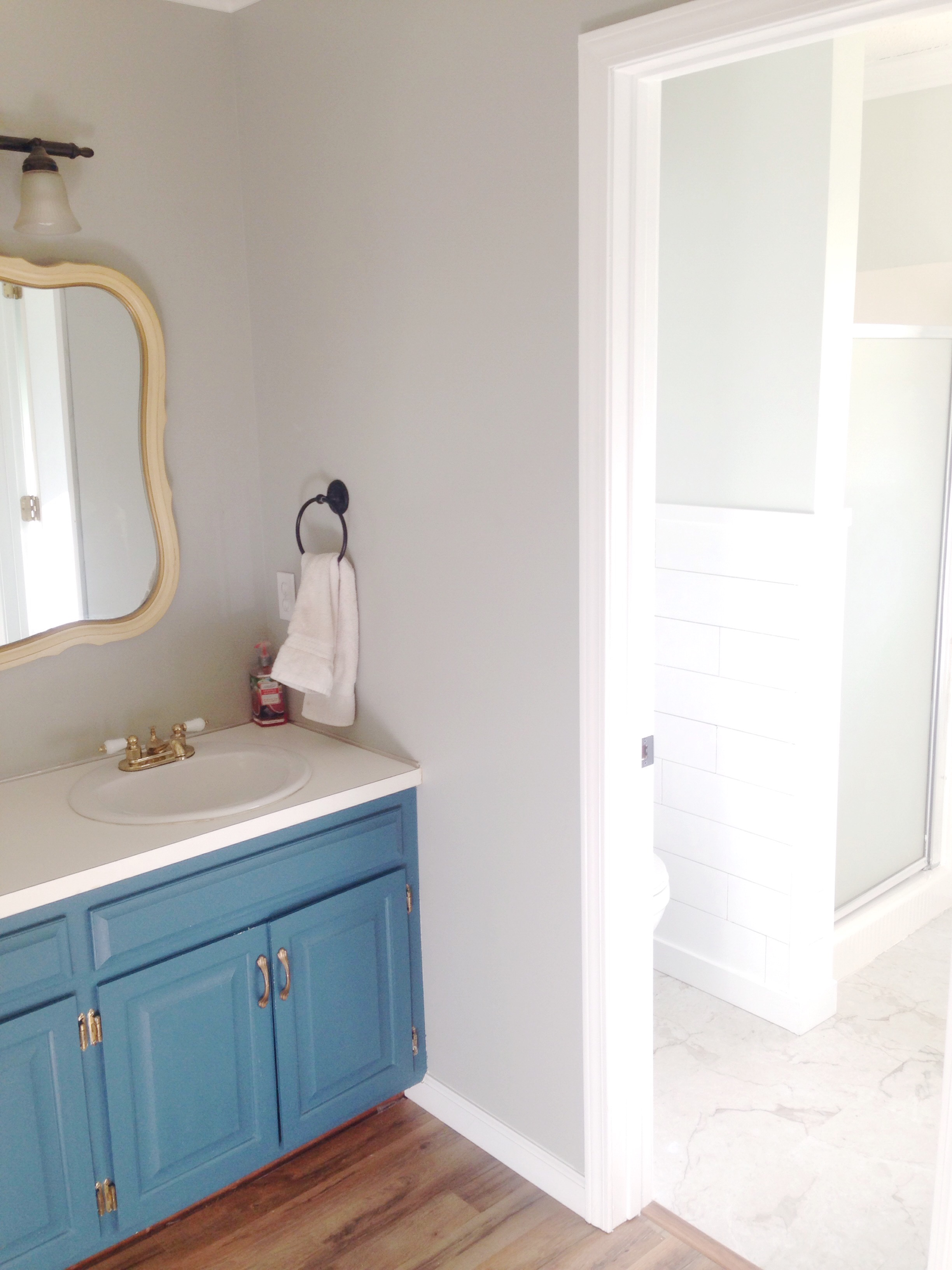 We Sold Our House in One Day: Master Bathroom Updates | All Things ...