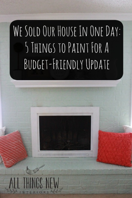 paint five things